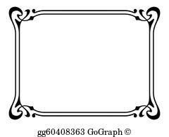 Bookplate Clip Art.