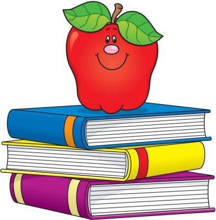 Book and apple clipart 3 » Clipart Portal.