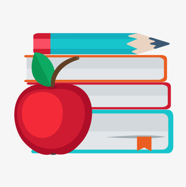 Colored Pencils Apple Books, Apple Vector, Color, Books PNG and.