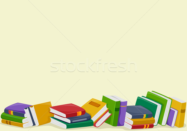 Books Clipart Background.