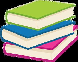 204 Books free clipart.