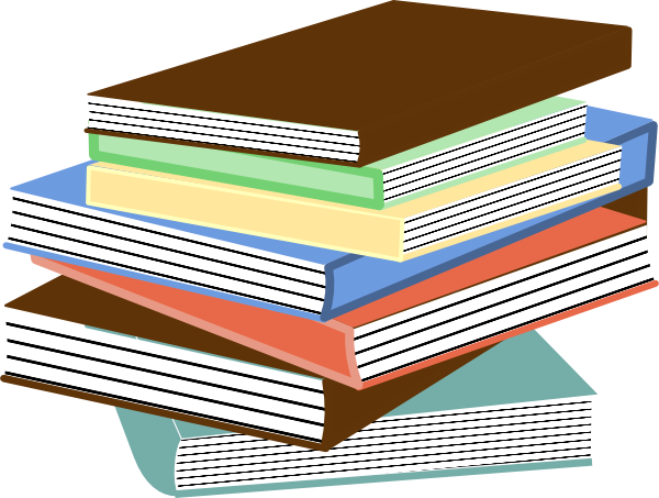 Stack Of Books PNG, SVG Clip art for Web.