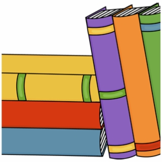 Book Clipart Stacked.