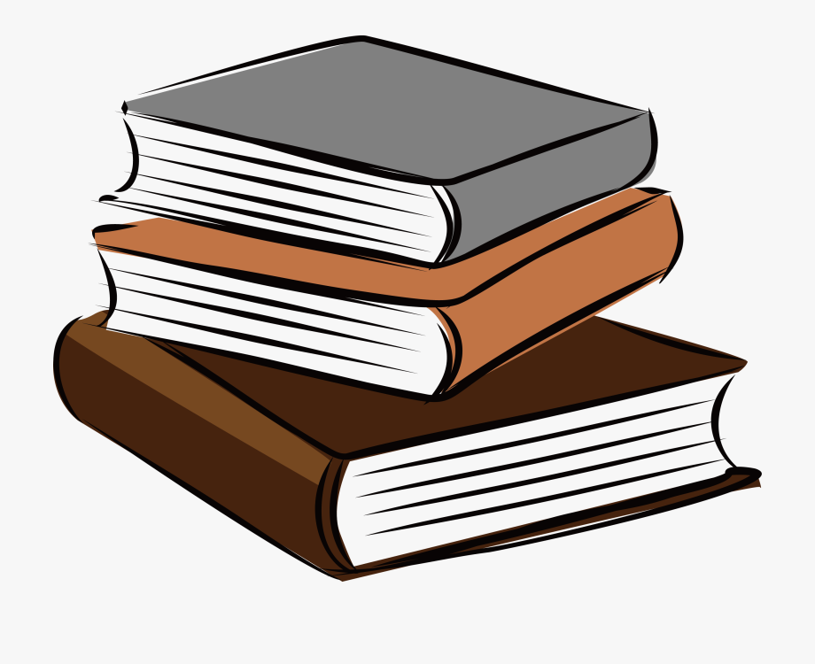 Education Stack Of Books Transparent Background.