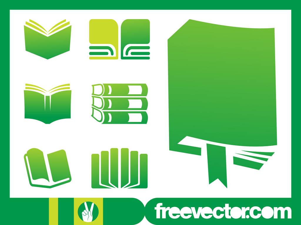 Books Icons Graphics Vector Art & Graphics.