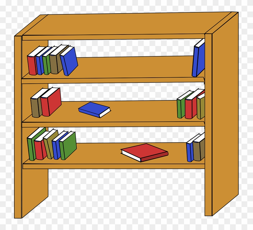 Books On Shelf Clipart Clipart Panda Free Clipart Images.