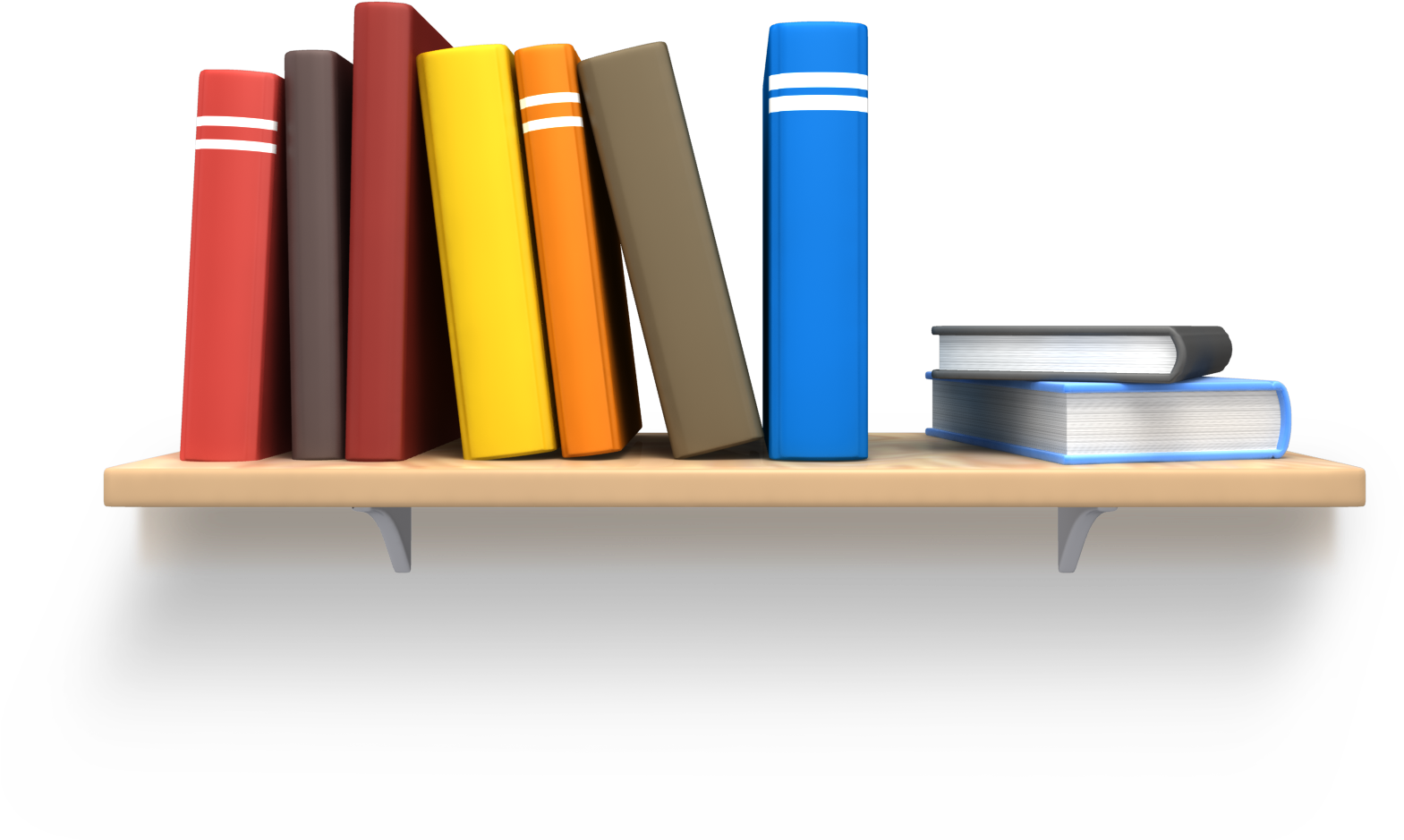 Shelf Bookcase Clip Art.