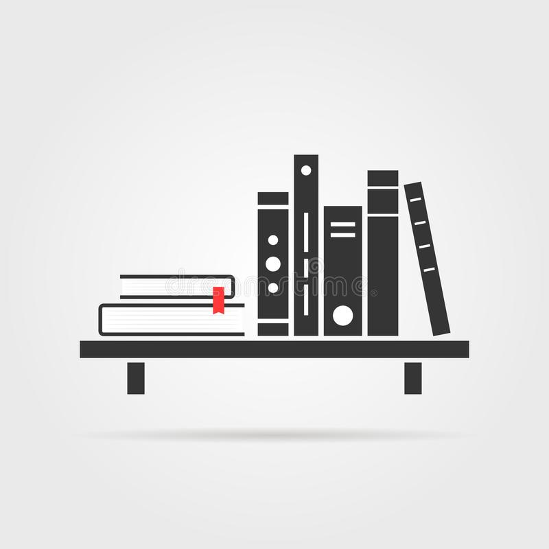 Book Shelf Stock Illustrations.