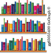 Book Shelf Clip Art.