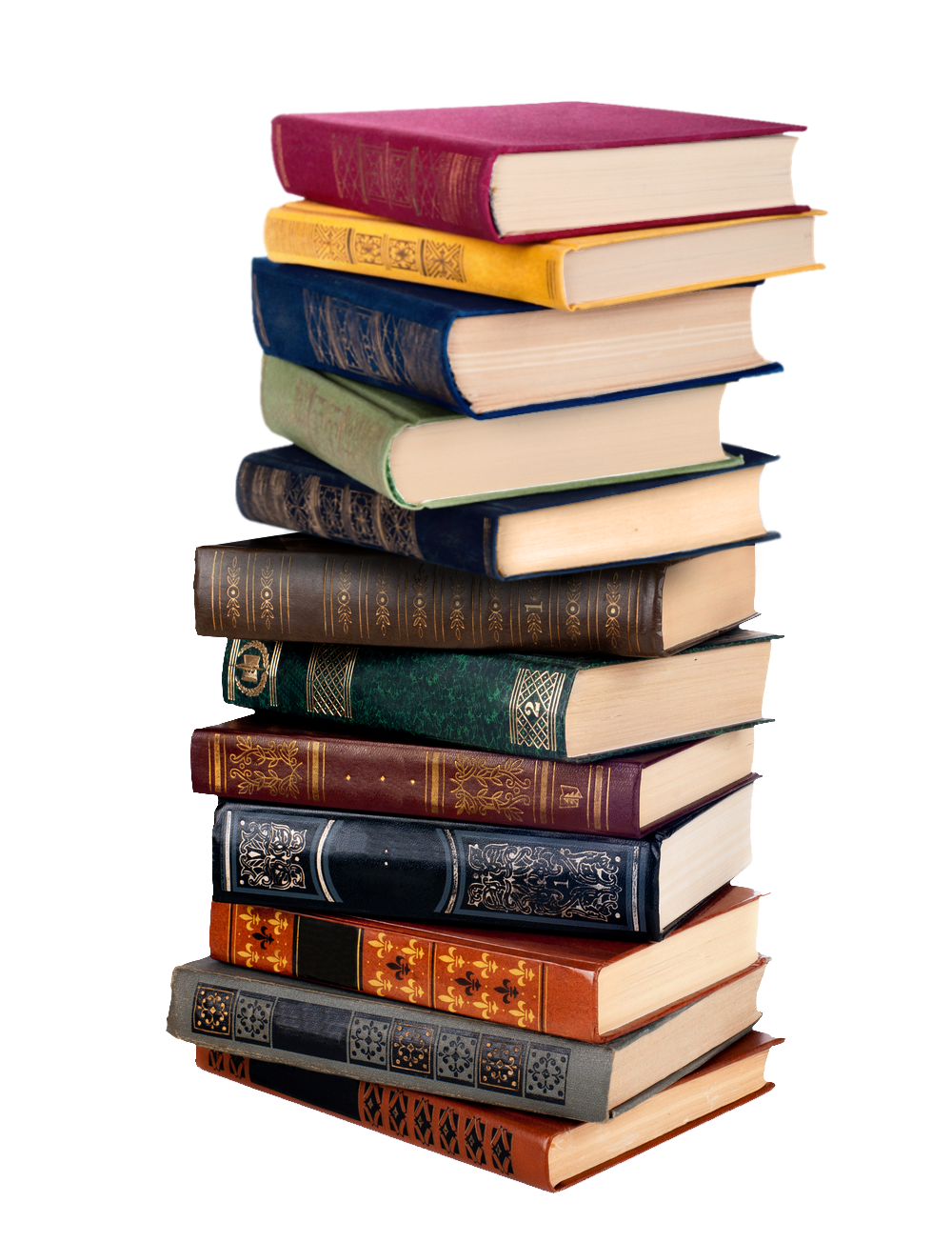 Stack Of Books Png #43071.