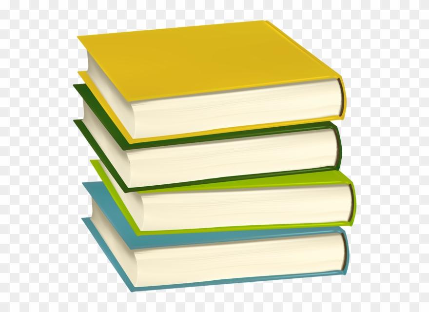 Book Pile Clipart.