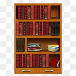 Free download Bookshelf Clip art Bookcase Portable Network Graphics.