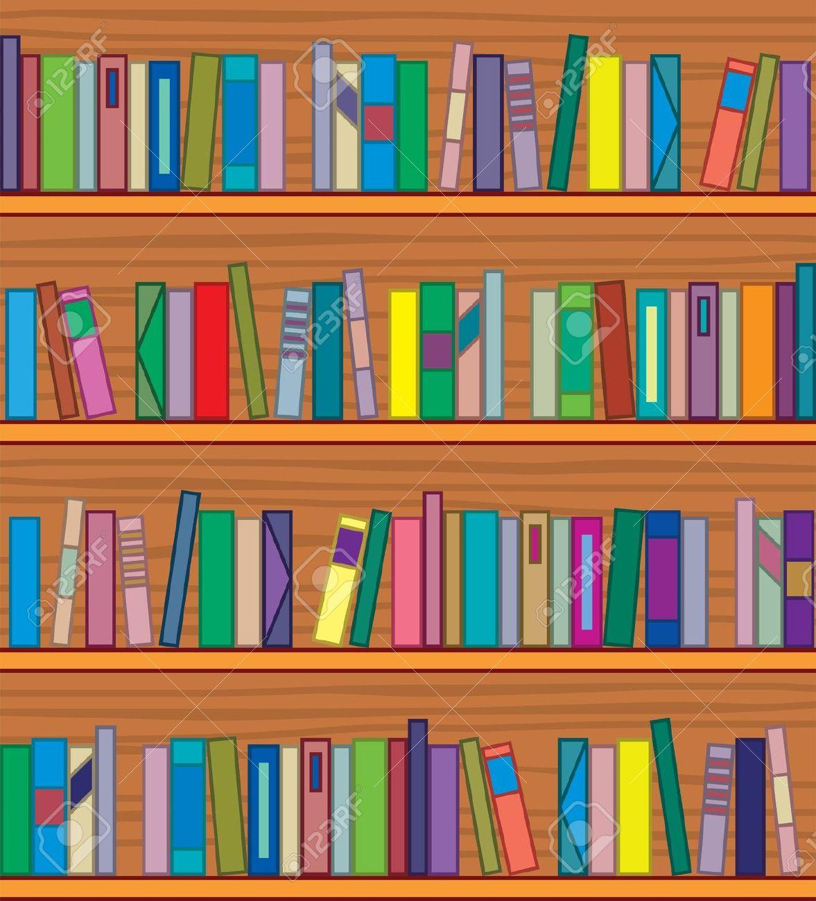 Bookshelf Clipart Clipground