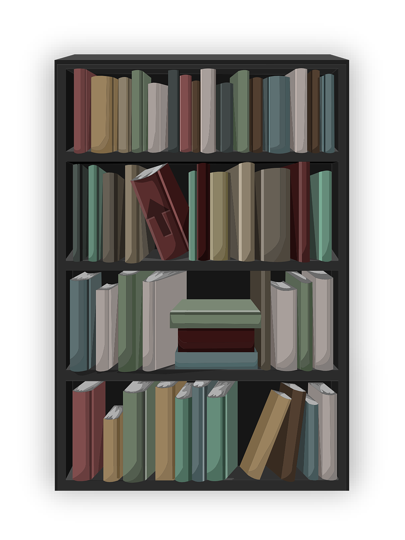 Free Bookshelf Cliparts, Download Free Clip Art, Free Clip Art on.