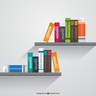 Bookshelf Vectors, Photos and PSD files.