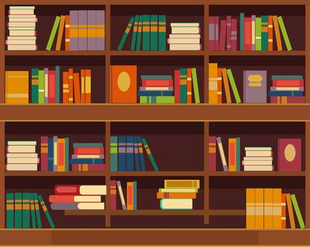 bookshelf with books clipart 20 free Cliparts | Download ...