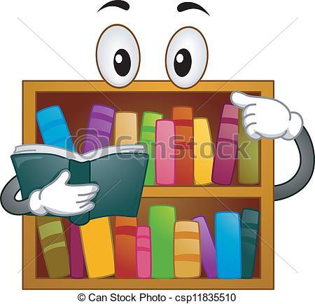 Bookshelf Stock Illustration Images. 10,984 Bookshelf.