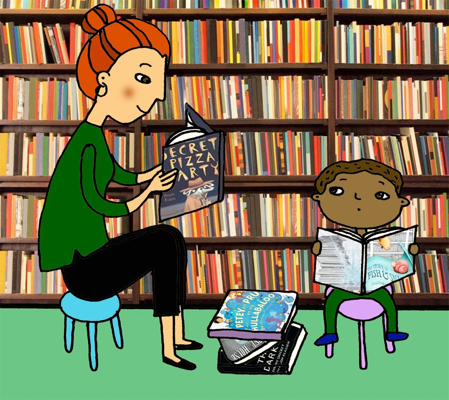 Ninja Woman: Picture Book Worshop #32: Research at the Bookstore.