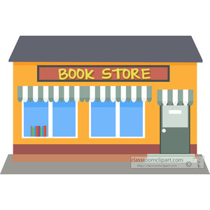 Image Gallery of Bookstore Clipart.