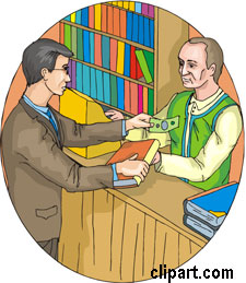 Booksellers clipart.