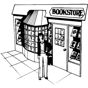 Book Store Clipart.