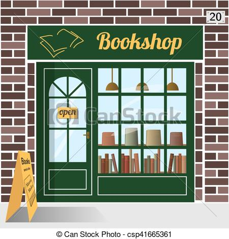 Bookshop. Bookstore..