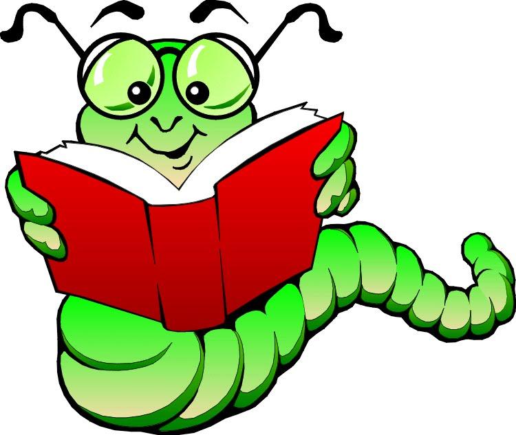 Book Worm Clip Art.