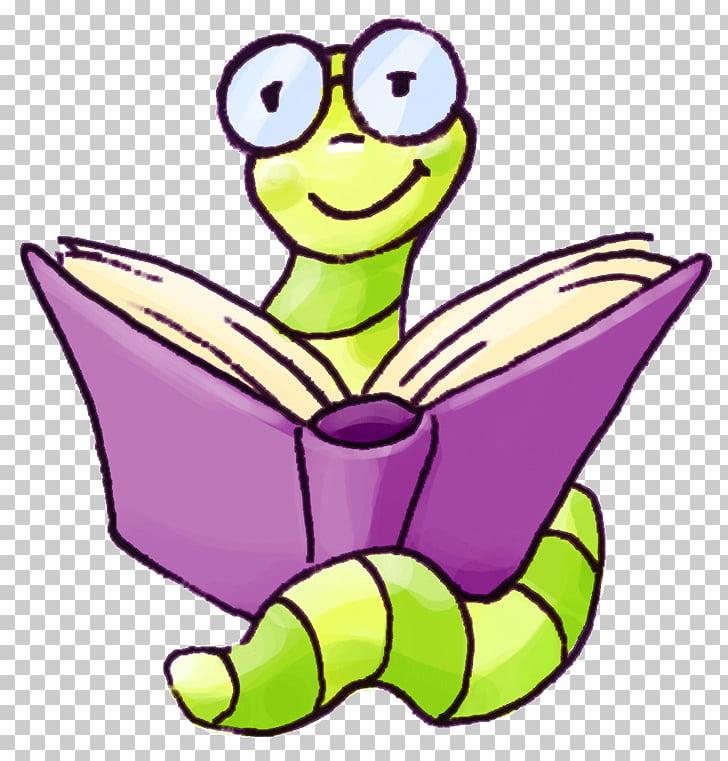 Bookworm , book PNG clipart.