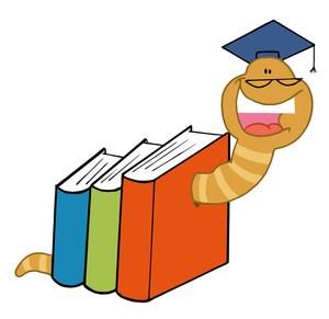 Bookworm free clipart 1 » Clipart Portal.