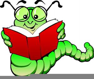 Clipart Of Bookworm.