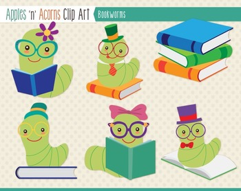 Bookworm Clipart Worksheets & Teaching Resources.