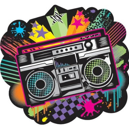 Clipart boombox.