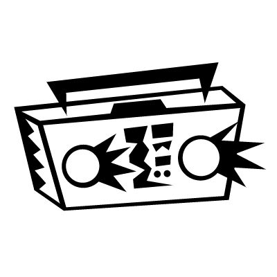 boombox clip art.