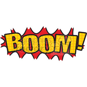 boom onomatopoeia clip art vector images clipart. Royalty.