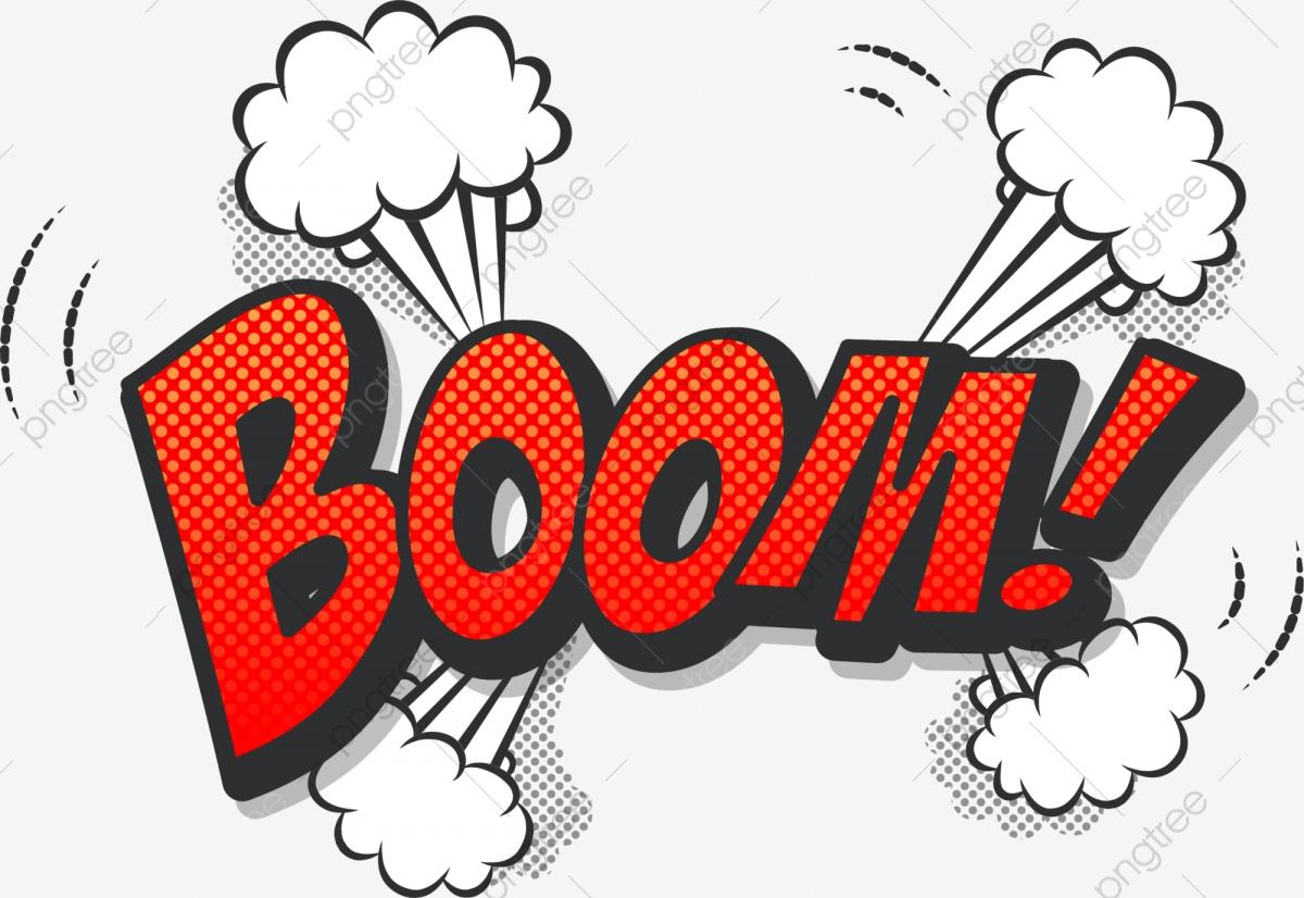 Orange Boom Explosion, Orange Clipart, Orange, Boom PNG Transparent.