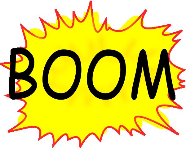 Boom Clip Art at Clker.com.