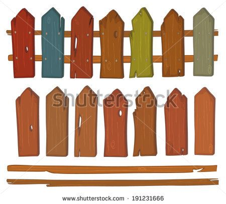 Fence Stock Vectors & Vector Clip Art.