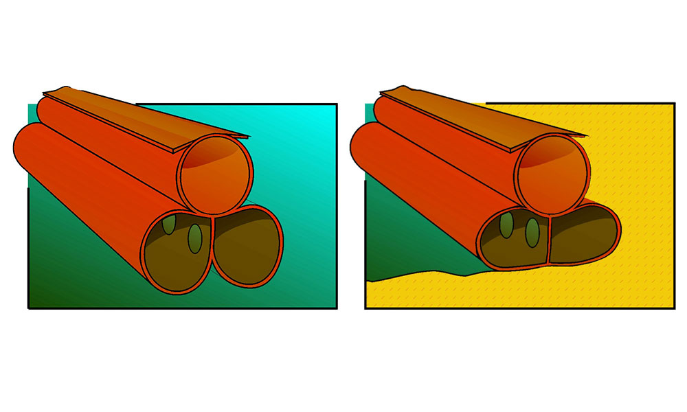 Shoreguardian Oil Containment Boom for Shore Lines.