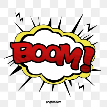 Boom Png, Vector, PSD, and Clipart With Transparent Background for.
