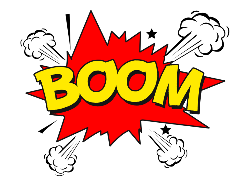 Boom Png (Isolated.