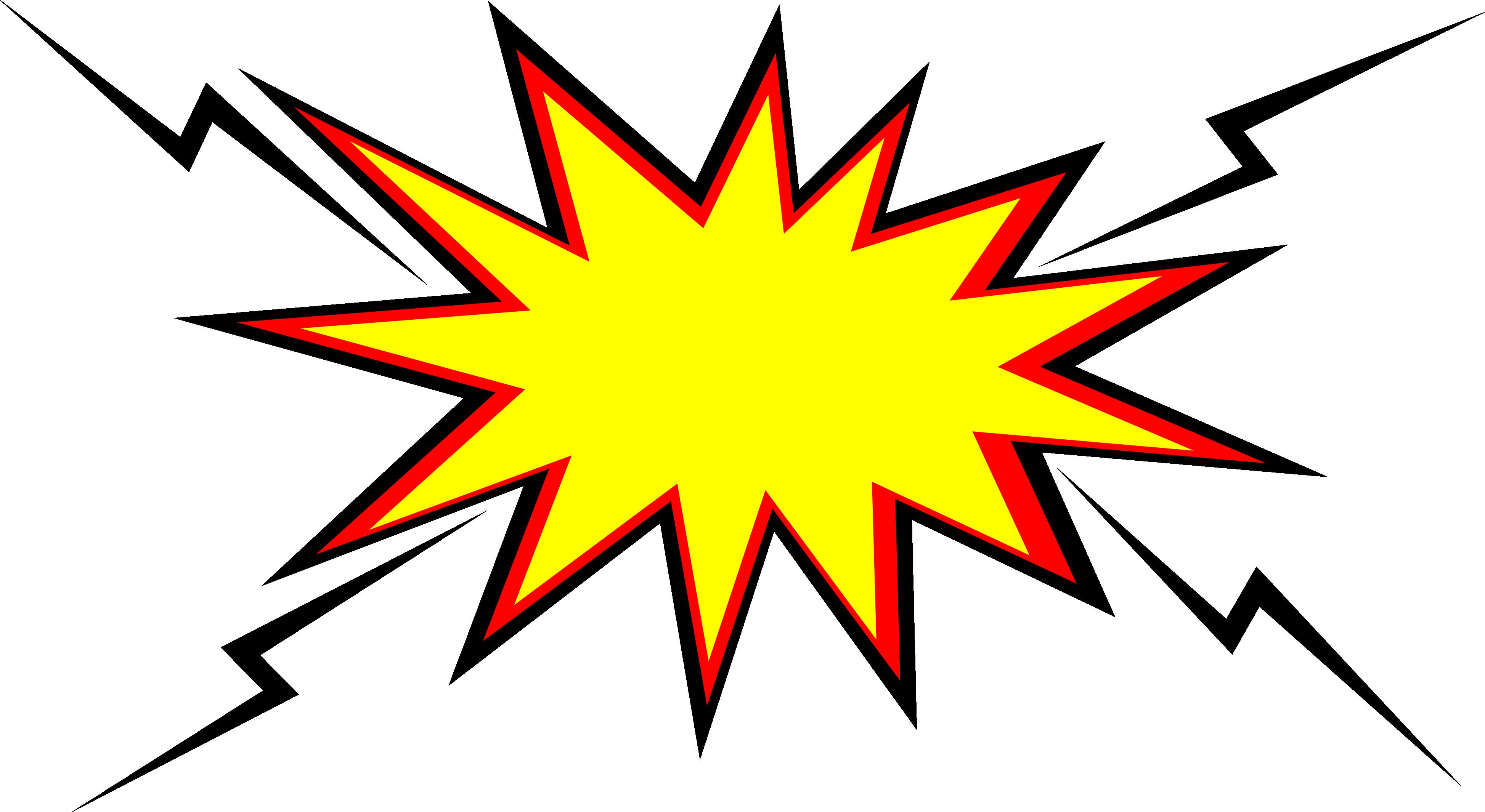 20 Comic Boom Explosion Vector (PNG Transparent, SVG) Vol. 2.