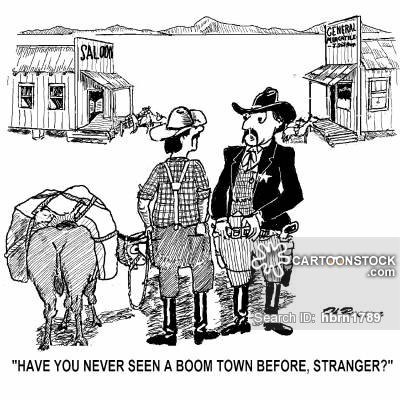 Boom Towns Cartoons and Comics.
