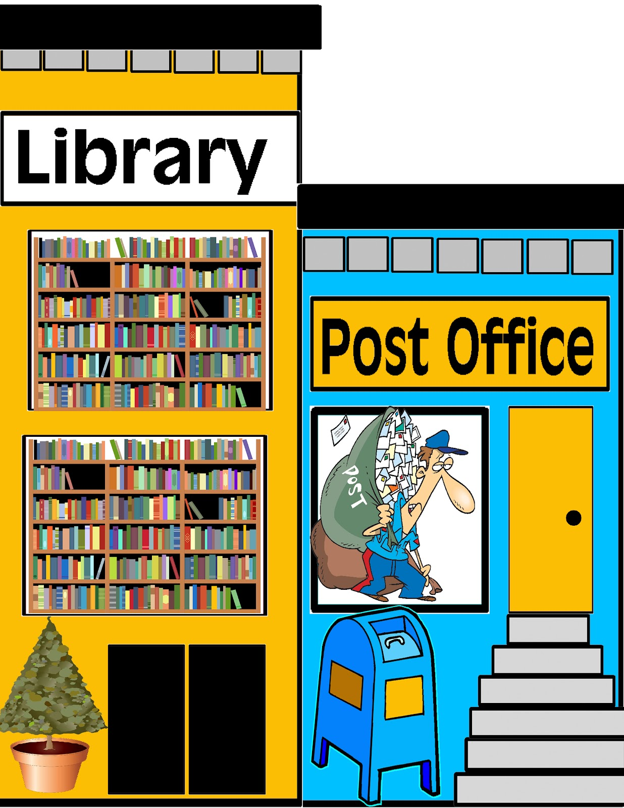 Office clipart library.