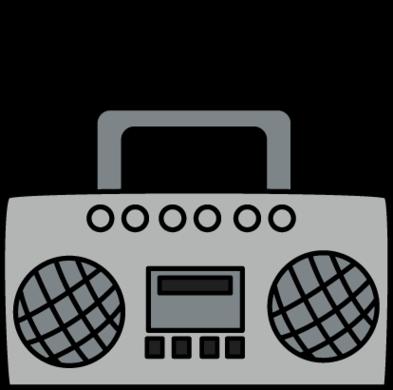 Boombox Clip Art Clipart.