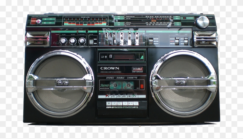 Boombox Transparent, HD Png Download.