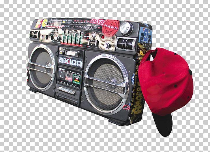 Hip Hop Music Boombox PNG, Clipart, Audio, Audio Equipment.