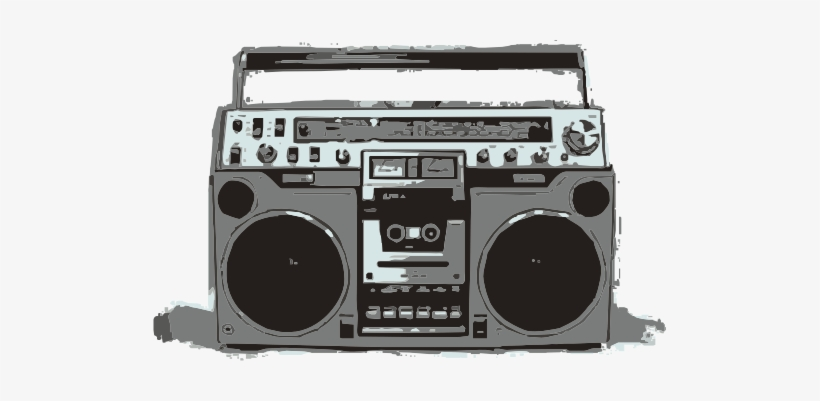 Old School Boombox Baby.