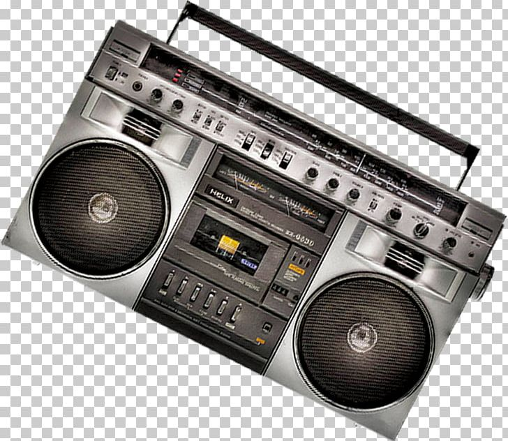 Boombox Radio Tape Recorder PNG, Clipart, Antique Radio, Antiques.