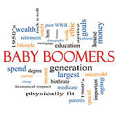 Baby Boomer Clipart.