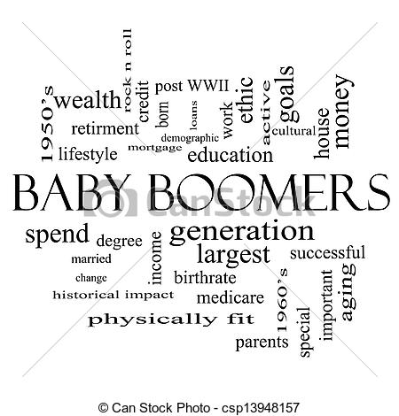 Baby boomers clipart.
